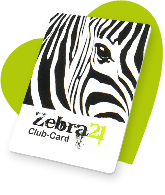 Zebra21 Club-Card